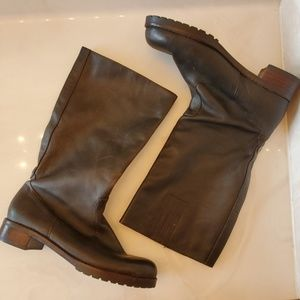 Brown Leather Boots Sz 8.5